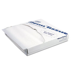 Menu Tissue Untreated Paper Sheets, 12 X 12, White,