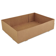 SCT® Donut Trays, 13 1/2w x 9 7/8d x 3 3/8h, Brown, 250/Carton