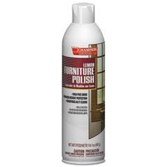 Chase Products Champion Sprayon Furniture Polish, Lemon, 17 oz Aerosol Spray, 12/Carton