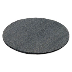 """GMT Radial Steel Wool Pads, Grade 0 (fine): Cleaning & Polishing, 19"""", Gray, 12/CT"""