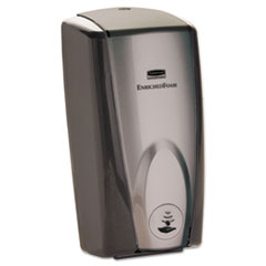 Rubbermaid® Commercial AutoFoam Touch-Free Dispenser, 1,100 mL, 5.2 x 5.25 x 10.9, Black/Gray Pearl, 10/Carton