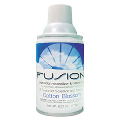 Fresh Products Fusion Metered Aerosols, Cotton Blossom, 6.25 oz Aerosol, 12/Carton