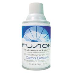 Fresh Products Fusion Metered Aerosols, Cotton Blossom, 6.25 oz Aerosol Spray, 12/Carton