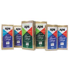 "General Standard Paper Lunch Bags, 5.13"" x 10.38"", Kraft, 1,200 Bags"