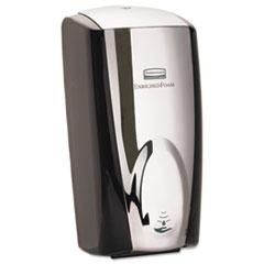 "Rubbermaid® Commercial AutoFoam Touch-Free Dispenser, 1100 mL, 5.2"" x 5.25"" x 10.9"", Black/Black Pearl"