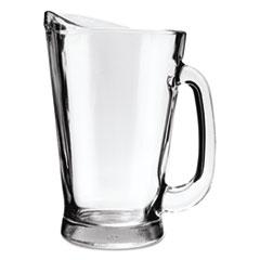 Anchor® Beer Wagon Pitcher, 55oz, Clear, 6/Carton