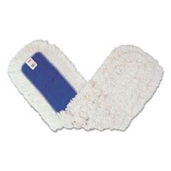 Rubbermaid® Commercial Dust Mop Heads, Kut-A-Way, White, 36 x 5, Cut-End, Cotton