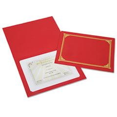 AbilityOne® SKILCRAFT® Gold Foil Stamped Certificate Document Cover Thumbnail