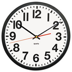 Universal® Large Numeral Clock with Auto Daylight Savings Adjustment