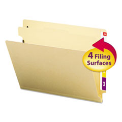 Smead® Manila End Tab Classification Folders