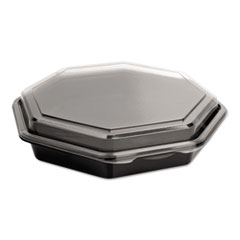 SOLO® Cup Company OctaView® Hinged-Lid Cold Food Containers Thumbnail