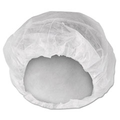 A10 Bouffant Caps, White, Large, 150 Pack, 3