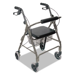 Ultra Lightweight Rollator, Titanium, Aluminum, Adjustable