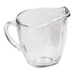 Anchor® Presence Glass Creamer, 11 oz, Clear, 4/Carton