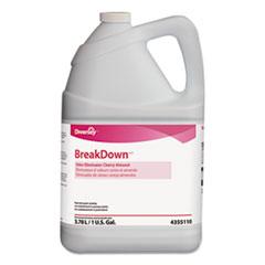 Diversey™ Breakdown Odor Eliminator, Cherry Almond Scent, Liquid, 1 gal Bottle, 4/Carton