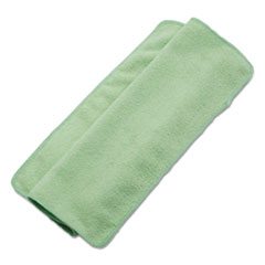 Boardwalk® Lightweight Microfiber Cleaning Cloths, Green, 16 x 16, 24/Pack