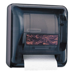 "Kimberly-Clark Professional* D2 Hard Roll Towel Dispenser, 17 1/2"" x 16"" x 10"", Smoke"