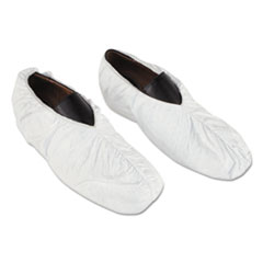 DuPont® Tyvek Shoe Covers, White, One Size Fits All, 200/Carton