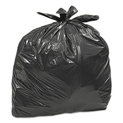 "Earthsense® Large Trash Bags, 33 gal, 0.75 mil, 32.5"" x 40"", Black, 50/Box"
