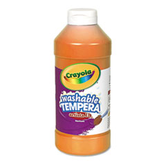 Crayola® Artista II Washable Tempera Paint, Orange, 16 oz