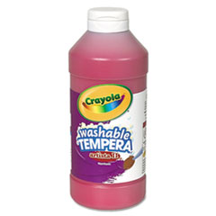 Crayola® Artista II Washable Tempera Paint, Red, 16 oz