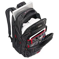 Samsonite® Tectonic PFT Backpack, 13 x 9 x 19, Black/Red
