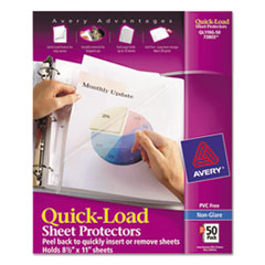 Avery® Quick-Load Heavyweight Sheet Protector