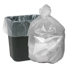 """Good 'n Tuff® Waste Can Liners, 16 gal, 6 microns, 24"""" x 31"""", Natural, 1,000/Carton"""
