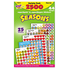 TREND® superSpots® and superShapes® Sticker Packs
