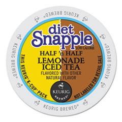 Snapple® Diet Half 'n Half K-Cups, 22/Box