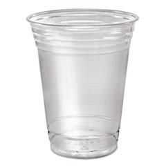 Dart® Ultra Clear Cups, Squat, 16 oz, PET, 50/Pack