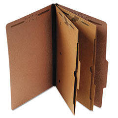 Universal® Six-Section Classification Folder with Pockets Thumbnail