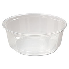 Fabri-Kal® Microwavable Deli Containers, 8oz, Clear, 500/Carton