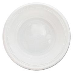 Dart® Famous Service Impact Plastic Dinnerware, Bowl, 5-6 oz, White, 125/Pack