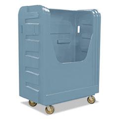 Royal Basket Trucks Bulk Transport Truck, 28 x 50 1/2 x 66 3/4, 800 lbs. Capacity, Gray RBTR48GRXBF6UN