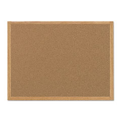 MasterVision® Value Cork Board with Oak Frame Thumbnail