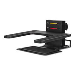 """Kensington® Adjustable Laptop Stand, 10"""" x 12.5"""" x 3"""" to 7"""", Black, Supports 7 lbs"""