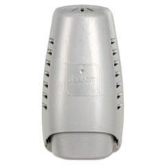 "Renuzit® Wall Mount Air Freshener Dispenser, 3.75"" x 3.25"" x 7.25"", Silver"