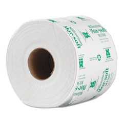 "Morcon Paper Morsoft Millennium Bath Tissue, Septic Safe, 1-Ply, White, 3.9"" x 4"", 1500 Sheets/Roll, 48 Rolls/Carton"