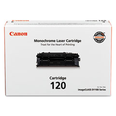 Canon® 2617B001 (120) Toner, 5000 Page-Yield, Black