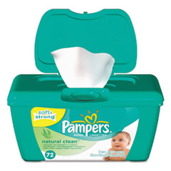 Pampers® Natural Clean Baby Wipes Thumbnail