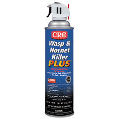 CRC® Wasp & Hornet Killer Plus Insecticide, 14 oz Aerosol Can, 12/Carton