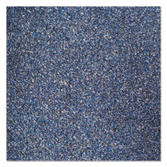 Crown Rely-On Olefin Indoor Wiper Mat, 36 x 48, Marlin Blue
