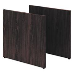 HON® Preside Conference Table Panel Base, 28 x 27 3/4, Mahogany HONTLPAN