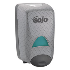 GOJO® DPX Dispenser, Holds 2L Refills, Gray Metallic, 6.813x11.875x5.125, 6/Carton GOJ525406CT