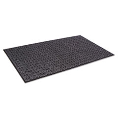 Crown Tire-Track Scraper Mat, Needlepunch Polypropylene/Vinyl, 36 x 60, Charcoal