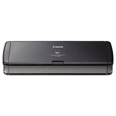 Canon® imageFORMULA P-215II Personal Document Scanner, 600 dpi Optical Resolution, 20-Sheet Duplex Auto Document Feeder