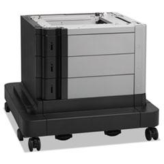 High-Capacity Input Feeder w/ Stand for LaserJet Enterprise, 2 x 500/1500 Sheet