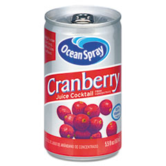 Ocean Spray® Cranberry Juice Drink, Cranberry, 5.5 oz Can