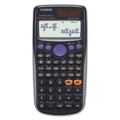Casio® FX-300ESPLUS Scientific Calculator, 10-Digit, Natural Textbook Display, LCD